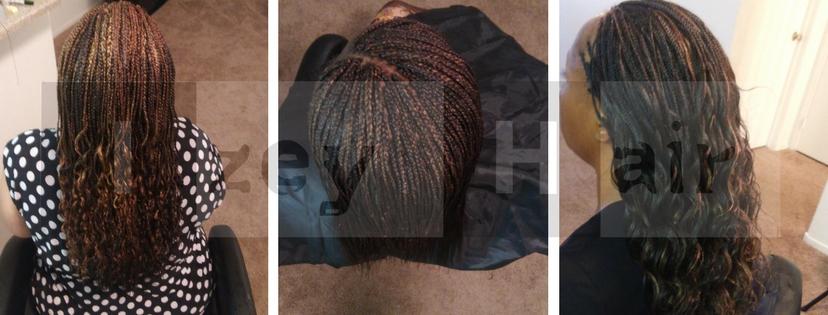 Micros- Microbraids-Braiding Hair -Izey Hair Las Vegas, NV