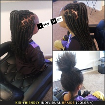 Kid-Friendly Individual Braids (Color 4) - Izey Hair