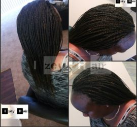 Individual Braids - Colors 1B (off black) and 30 (Auburn)