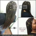 Long Individual Box Braids with Anti-Itch Braiding Hair - Photo of Itch Free Braids by Izey Hair