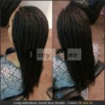 Long Individual (Small Box) Braids - Colors 1B and 30 - Izey Hair