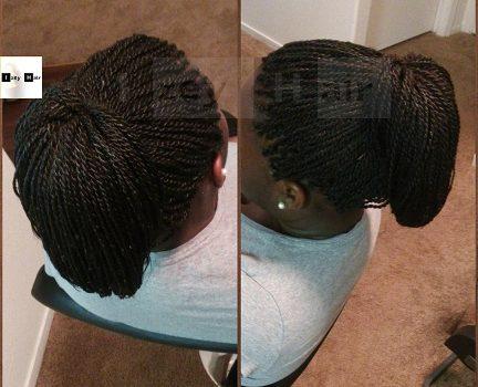 Senegalese Braiding Twists - Color 1B - Simple, Convenient and Professional