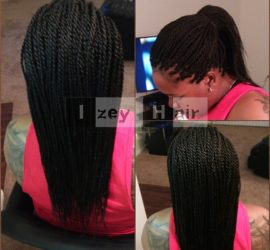 Senegalese Twists - Colors 4 and 1B - Izey Hair