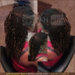 Senegalese Twists with Curled Ends - Colors 2 (Dark Brown) and 30 - Izey Hair