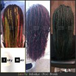 Colorful Individual (Box) Braids - Izey Hair - Las Vegas, Nevada