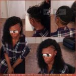 Brazilian Water Wave - Part Sew-in Weave and Part Feed-in Cornrows - Izey Hair