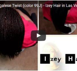 Small Senegalese Twists - Dark Auburn - Las Vegas