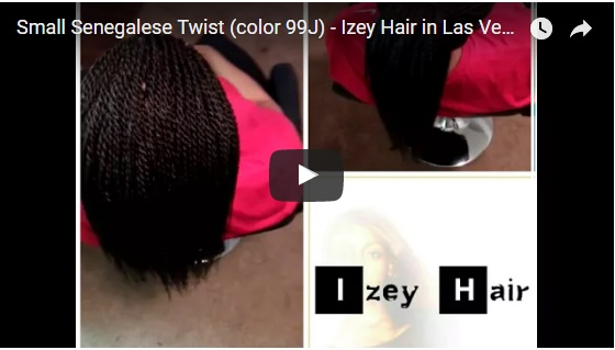 Small Senegalese Twists - Dark Auburn - Las Vegas