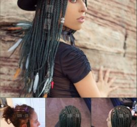 Green Braids - Vegan Movement - Vegan Inspired