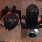 Individual Box Braids - Colors 99J and 4 - Izey Hair - Las Vegas, NV