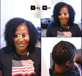 Sew-in Weave - Malaysian Curly - 3 Hair Bundles -IzeyHair - Las Vegas, NV