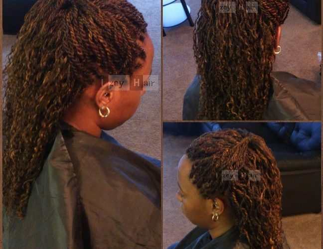 Curly Senegalese Twists Colors 33 And 30