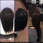 Senegalese Twist Color 2 (Brown) Color 1 (Jet Black) and Dark Purple Color 99J (Dark Auburn)