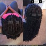 Senegalese Twists with 'Hot Water' Curled Ends - Izey Hair - Las Vegas Nevada