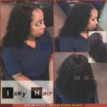 Sew-in Weave Curls (Natural Black Unprocessed Hair) - Izey Hair - Las Vegas Nevada