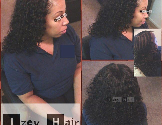 Sew-in Weave Curls (Natural Black Unprocessed Hair) - Izey Hair - Las Vegas Nevada