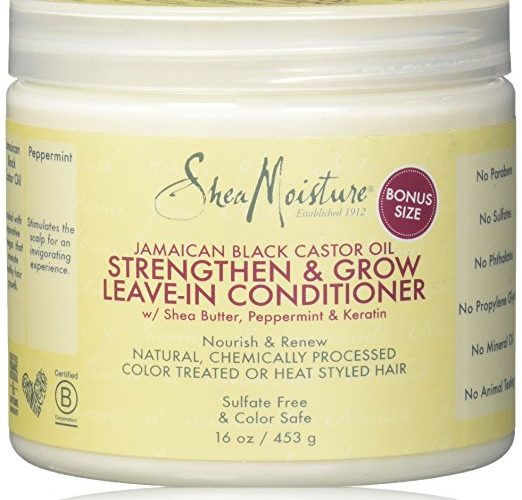 Shea Moisture Jamaican Black Castor Oil Strengthen & Grow Leave-In Conditioner
