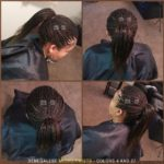 Senegalese Micro-Twists - Colors 4 (brown) and 27 (blond) - Izey Hair - Las Vegas, NV