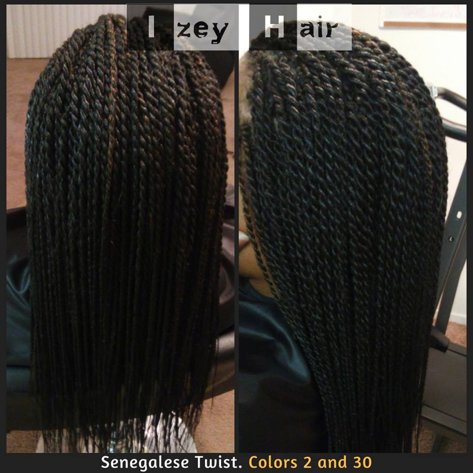 Senegalese Twist Colors 2 and 30- Xpressions Hair - Izey Hair Las Vegas NV