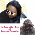 10 Half Weave and Half Micro-Braid Photos