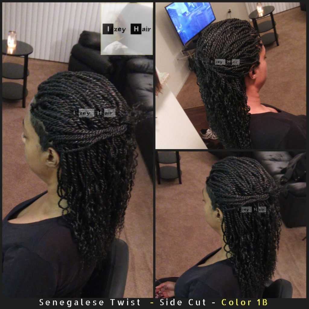Senegalese Twist - Side Cut