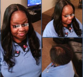 Sew-in Weave with Lace Closure -- Brazilian Body Wave