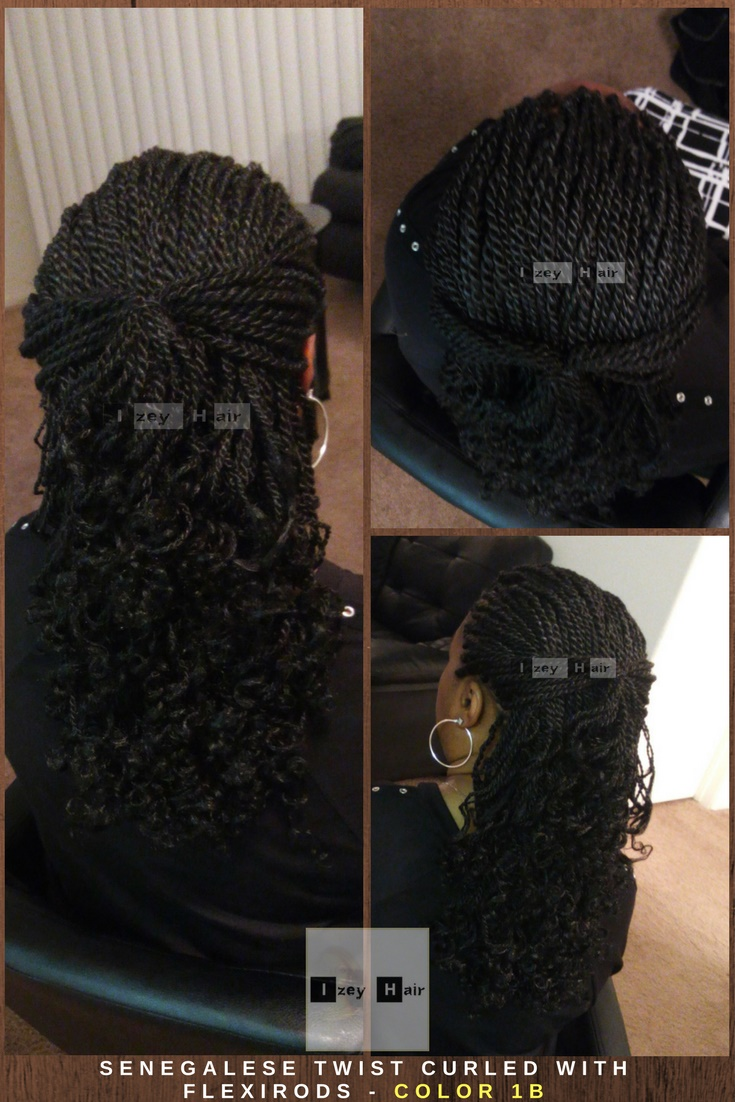 What type of hair do you use for Senegalese twist?