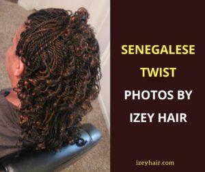 Senegalese Twist Photos by Izey Hair in Las Vegas Nevada.