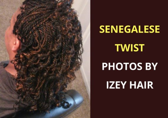 Senegalese Twist Photos by Izey Hair in Las Vegas Nevada.