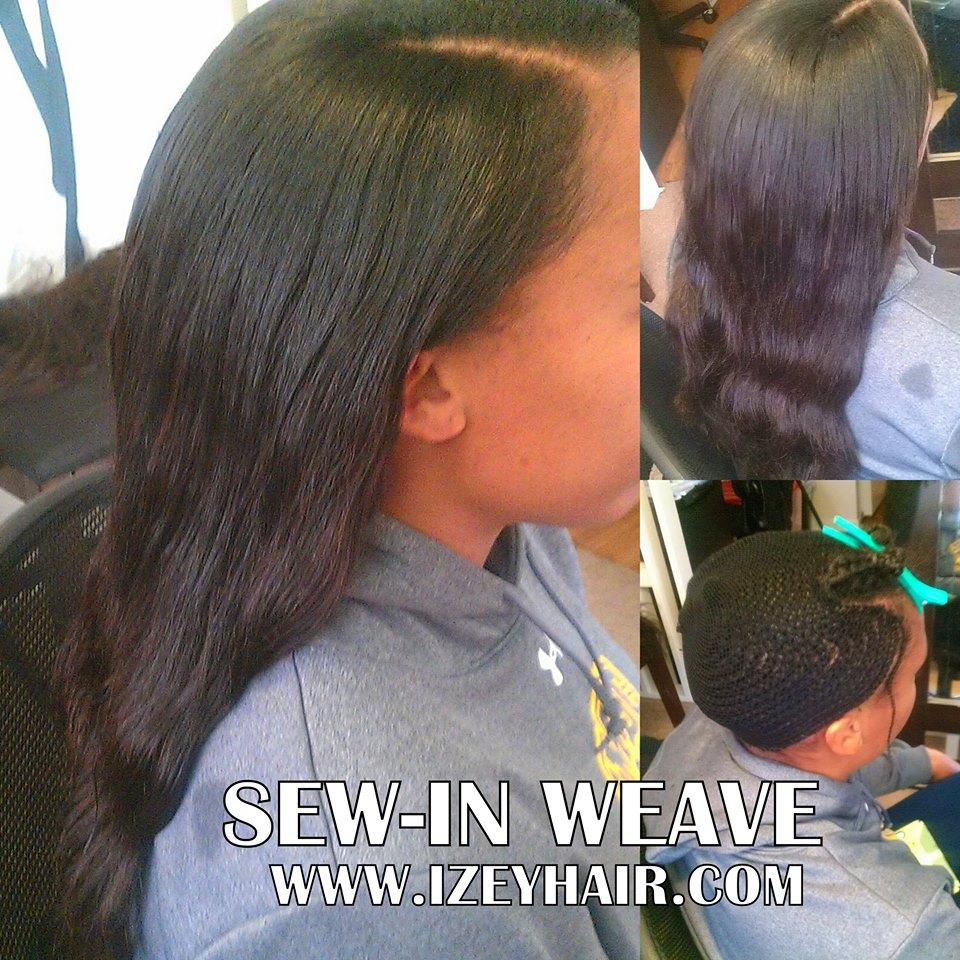 Natural Looking Sew in Weave - Peruvian Hair Bundles