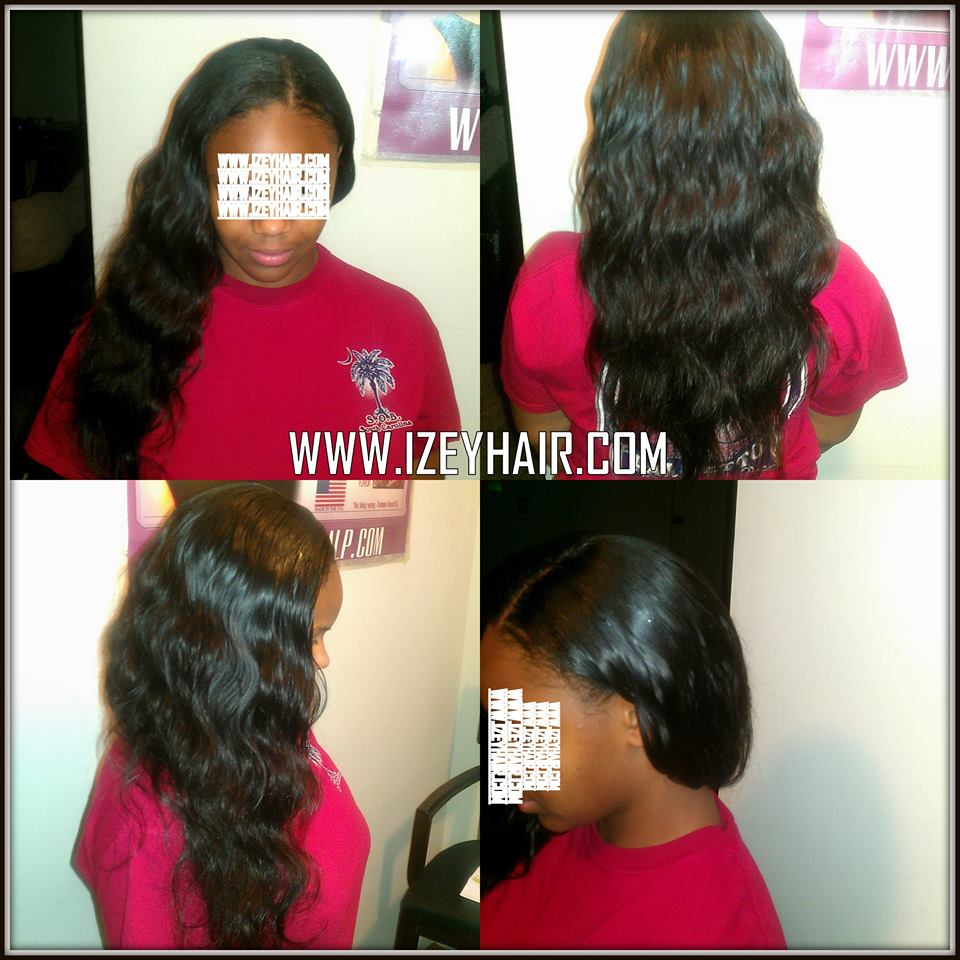 Natural Looking Weaves - Long Unprocessed Virgin Brazilian Body Wave
