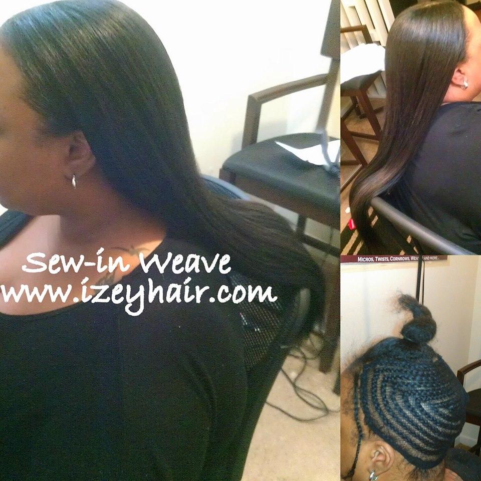 Natural Looking Weave with Indian Hair Bundles - Virgin Unprocessed Straight