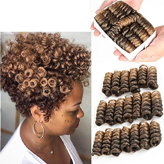 5 Inch 20 Strands Jamaican Bounce Wand Curl Crochet Hair Extensions