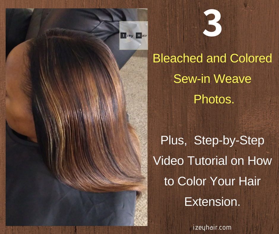 Sew In Bob Weave With Color 427 Ombre Brazilian Straight Hair And