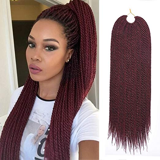Color #530 Ombre Crochet Senegalese Twist