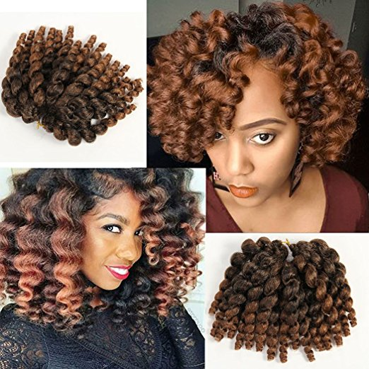 Ringlet Wand Curl Jamaican Bounce Crochet Hair Extensions