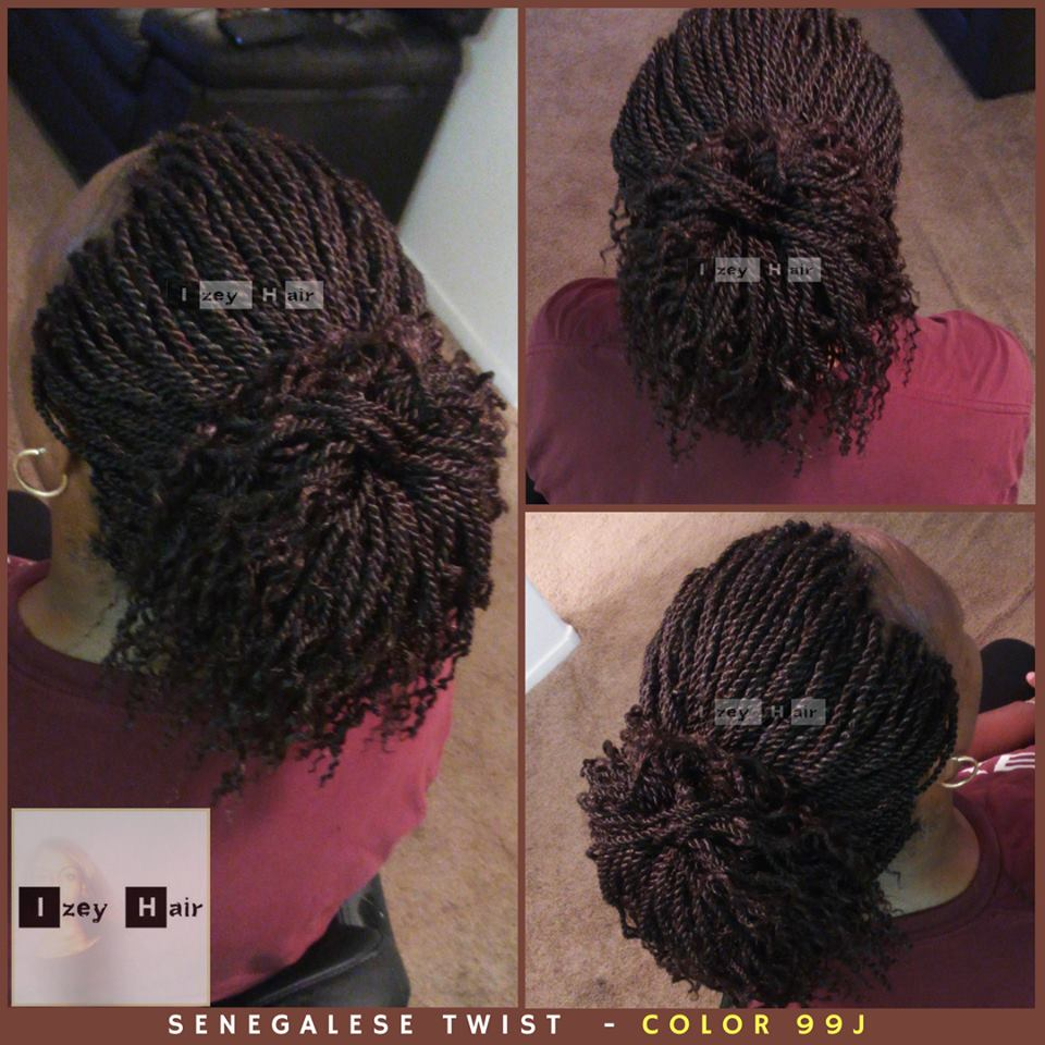 Senegalese Twist - Color 99J