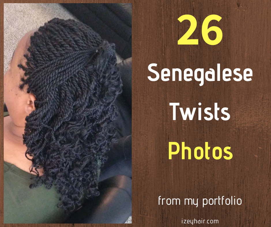Senegalese Twists Photos by Izey Hair in Las Vegas Nevada.