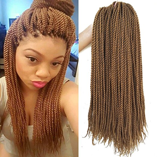 Color 27 Blond Crochet Senegalese Twist
