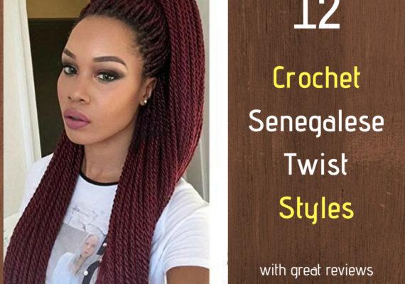 Crochet Senegalese Twist Styles with great reviews - Izey Hair in Las Vegas Nevada. (1)