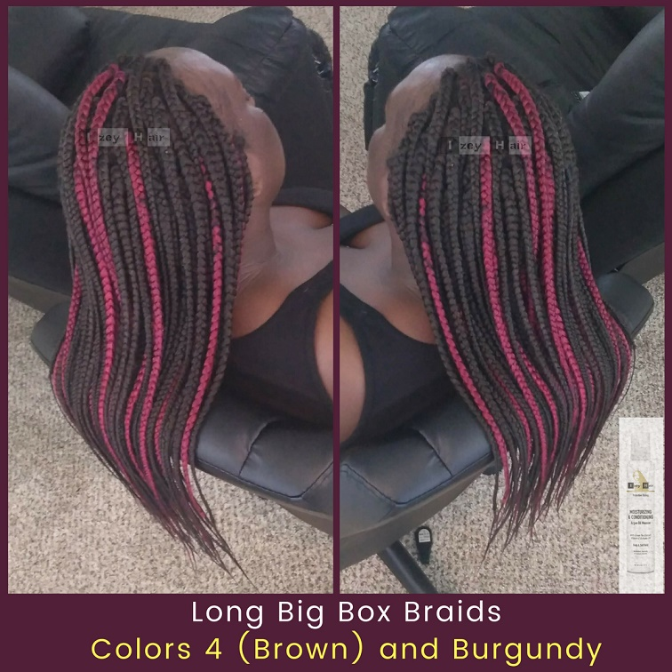 I used Xpressions Braiding Hair. Photo by Izey Hair - Las Vegas, NV