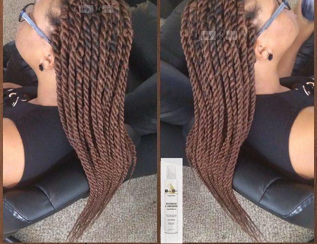Long Big (Jumbo) Senegalese Twists. Color 30 (Medium Auburn) - Izey Hair - Las Vegas, NV