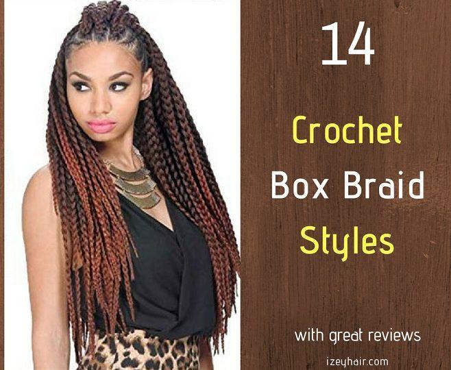 14 Best Crochet Box Braid Styles Plus Video Tutorial On How To