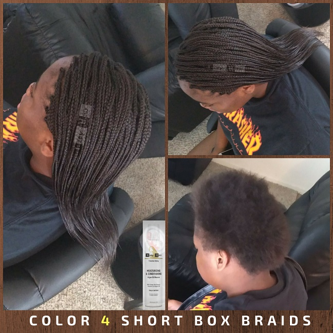 Color 4 Box Braids - Izey Hair - Las Vegas, NV
