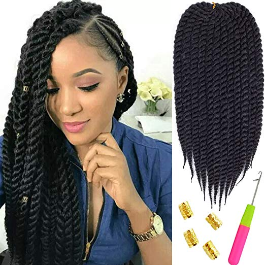 Part Cornrows Part Mambo Twist Havana Crochet Hair