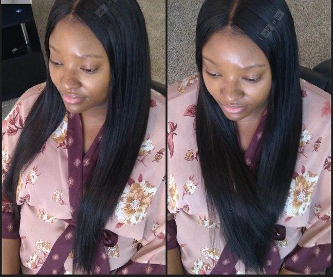 Unprocessed Virgin Hair Straight Hair Peruvian Hair - 100% Sew-in Weave with Lace Closure - Izey Hair - Las Vegas, NV