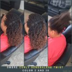 Ombre Curly Senegalese Twist. Color 2 and 30 - Izey Hair - Las Vegas, NV