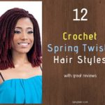 12 Crochet Spring Twists Hair Styles with great reviews on Amazon - Izey Hair in Las Vegas Nevada.