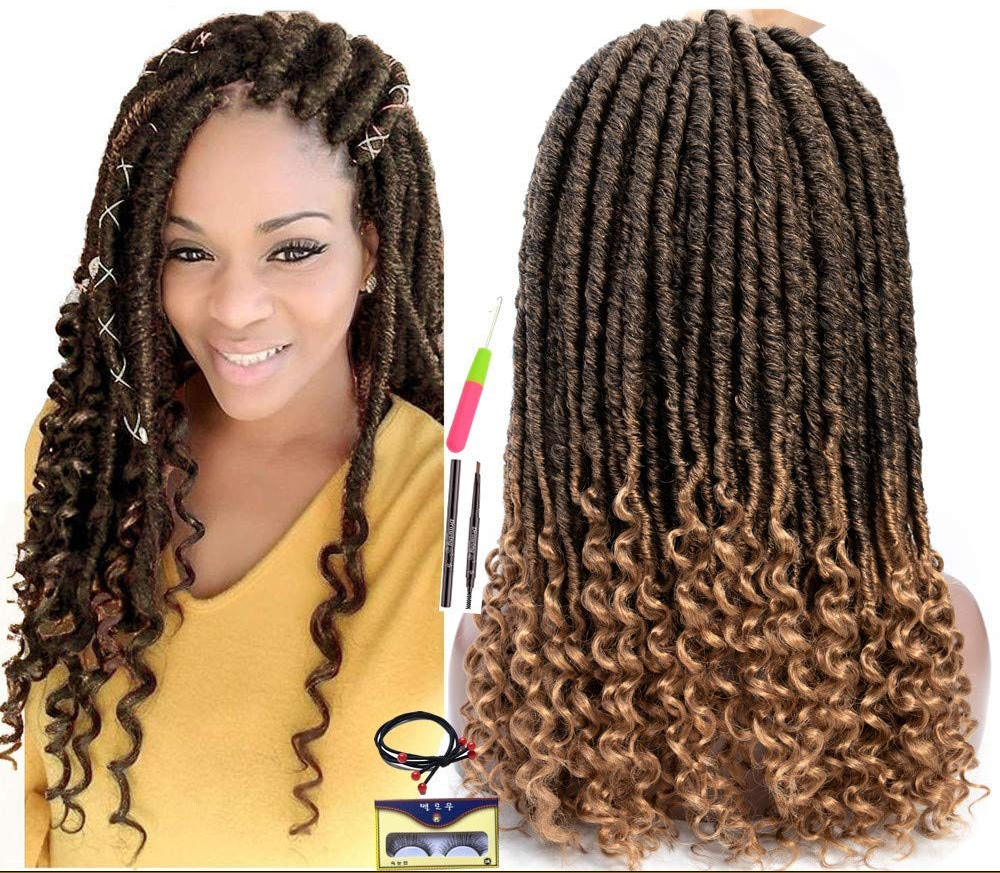 Crochet Faux Locs - 2 Colors: T1B/27