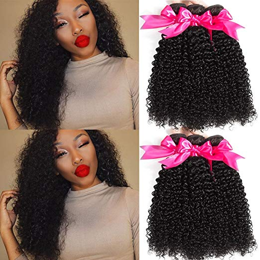 Grade 10A Brazilian Curly Hair Bundles